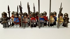 Late 15th century men at arms (michaelozzie1) Tags: lego castle knights custom men arms 15th century brickwarriors