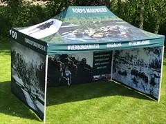 Team tent Korps Mariniers (15)