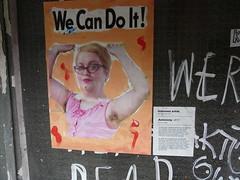 'Autonomy' by Unknown, Redchurch Street (Loz Flowers) Tags: london bethnalgreen streetart feminism posters redchurchstreet towerhamlets