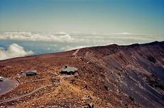 Haleakala (mid-90's) (jcc55883) Tags: film filmphotography 35mm 35mmfilm haleakala haleakalanationalpark maui mountian eastmaui volcano sky clouds houseofthesun hawaii