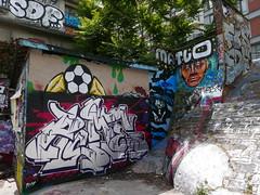 "48°52'54.6""N 2°22'08.0""E (neppanen) Tags: sampen discounterintelligence paris pariisi france ranska cofre graffiti streetart canalsaintmartin canal sdf matlo gmf gme"