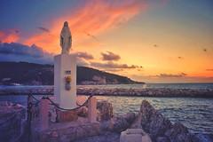 Bon Voyage (lichtspiel_arminpixner) Tags: ifttt 500px sky landscape sea sunset water beach travel sun light ocean evening dawn seashore holidays fujifilm gargano peschici no person xt1