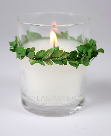 Green Vines - Votive Candle Wedding Decoration