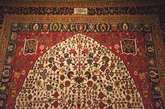 Detail, Persian Carpet (A.Davey) Tags: iran tehran persiancarpet nationalcarpetmuseum