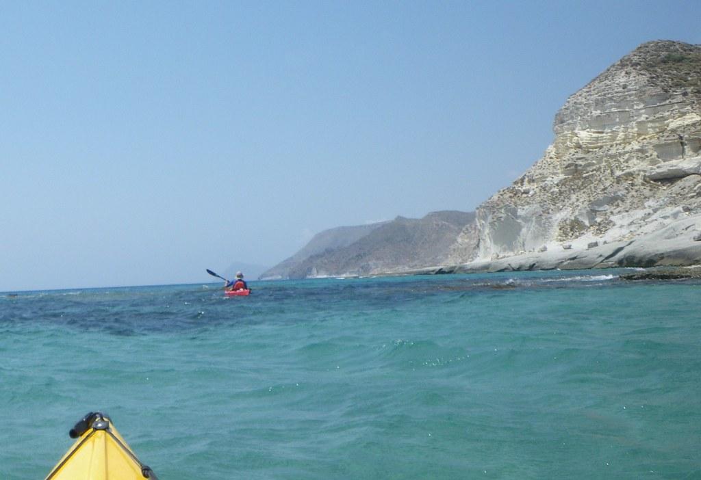 Cabo de Gata en kayak 138