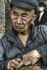 Old man (Exoland Travel) Tags: hdr hi nguyn