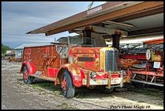 HDR #587 - Oshkosh Fire Truck (Pete's Photo Magic) Tags: usa psp montana pentax hdr topaz photomatix k20d