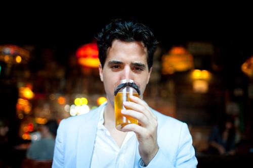 beer mustache