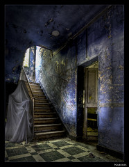 I'm your blue nightmare.... (NARIBIS) Tags: old urban canon hospital photo photos decay creepy tokina abandon forgotten urbanexploration infiltration exploration hdr decayed abandonned urbex oubli abandonn friches friche tokina1224mm hdrandphotoshopphotography naribis