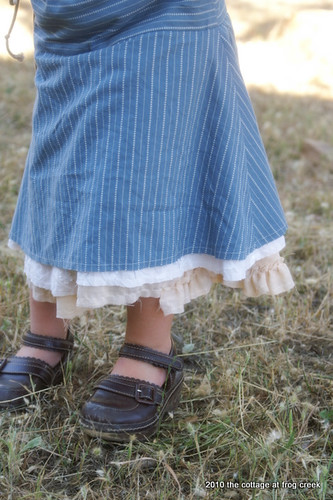 Natural Cotton Skirt- Carefree Clothes