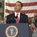 President Barrack Obama adresses troops at Osan airbase South Korea