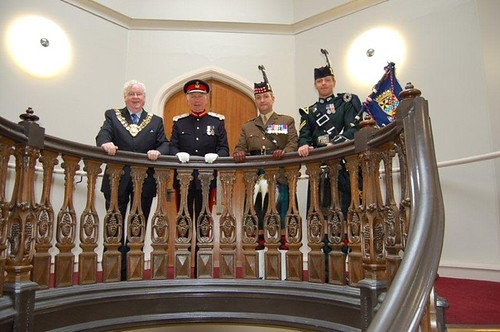 Provist reconferes freedom of Argyll and Bute on The Argylls 26 June 2010