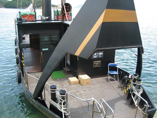 福山 鞆の浦 平成いろは丸、龍馬の乗った船で、仙酔島へ7