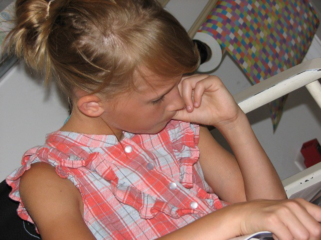 Jillian reading