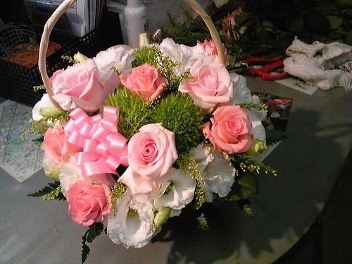 奥さんの誕生日プレゼントに花を