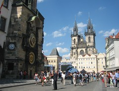 Old Town Square & Church of Our Lady before Tn, Prague, Czech Republic (Bencito the Traveller) Tags: prague czechrepublic oldtownsquare unescoworldheritage churchofourladybeforetn
