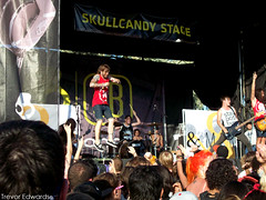 Of Mice & Men. (Trevor Edwards.) Tags: arizona phoenix warpedtour hardcore vans hops ofmicemen