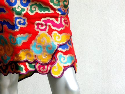 Colourful Cloud Cheongsam for Stacy