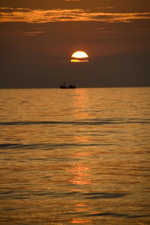 De Haan, tramonto