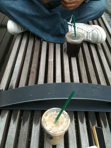 六本木 スターバックス アイスコーヒーおかわり100円キャンペーン
