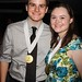 Benjamin Jones and Sarah Bergeson, nominees from the Blue Star Awards