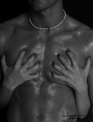 m.&d. (francescorusso@graficante.it) Tags: portrait woman man donna hands body touch mani bn uomo scratch ritratto laws corpo manandwoman graffi artigli sheandhe leielui