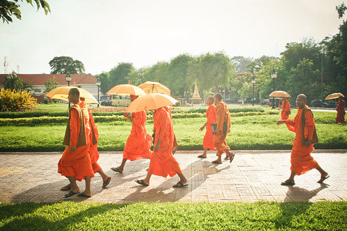 Monks of Cambodia