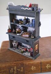 Edgar Allen Poe Gothic Hutch~1:12th Scale