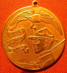 Our Colored Heroes Medal Obverse