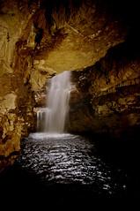 Uamh Smudha (plattbridger) Tags: uk scotland waterfall highlands pentax britain scottish escocia highland scot cave sutherland karst durness schottland ecosse kx scozia smoo smudha