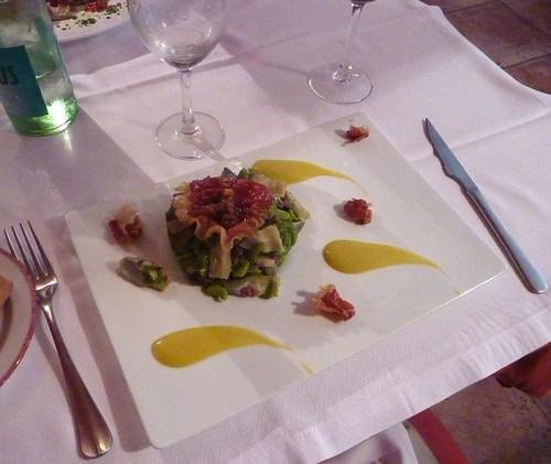 Posada, Oitz: verduras salteadas