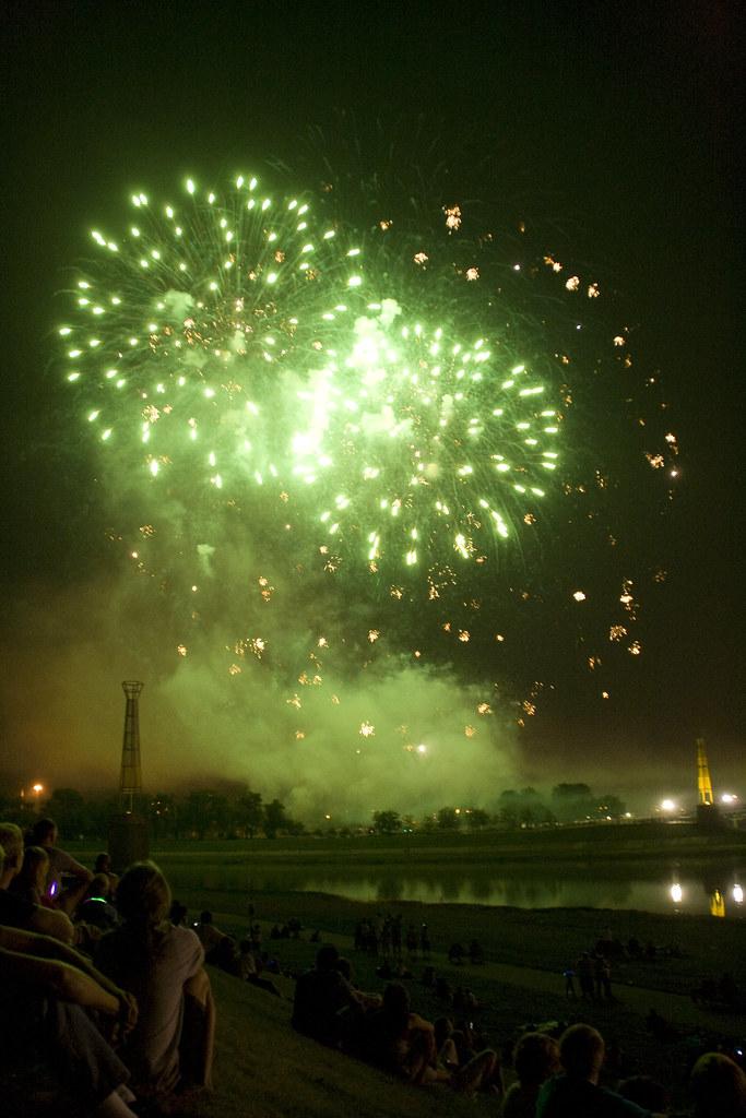 fireworks in Dayton
