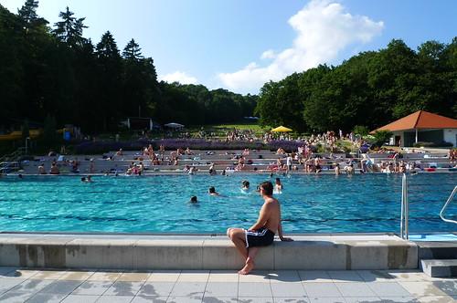 Waldschwimmbad Kronberg Juli 2010
