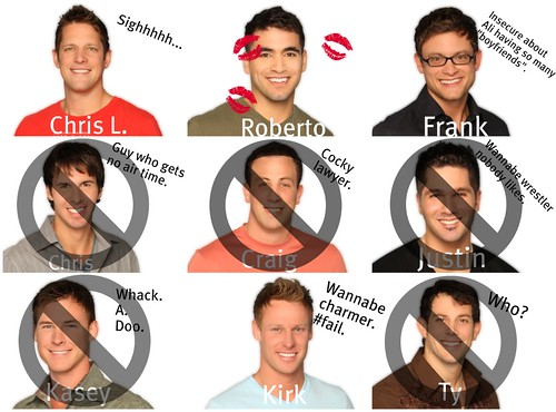 The Bachelorette 2010 - Top Four