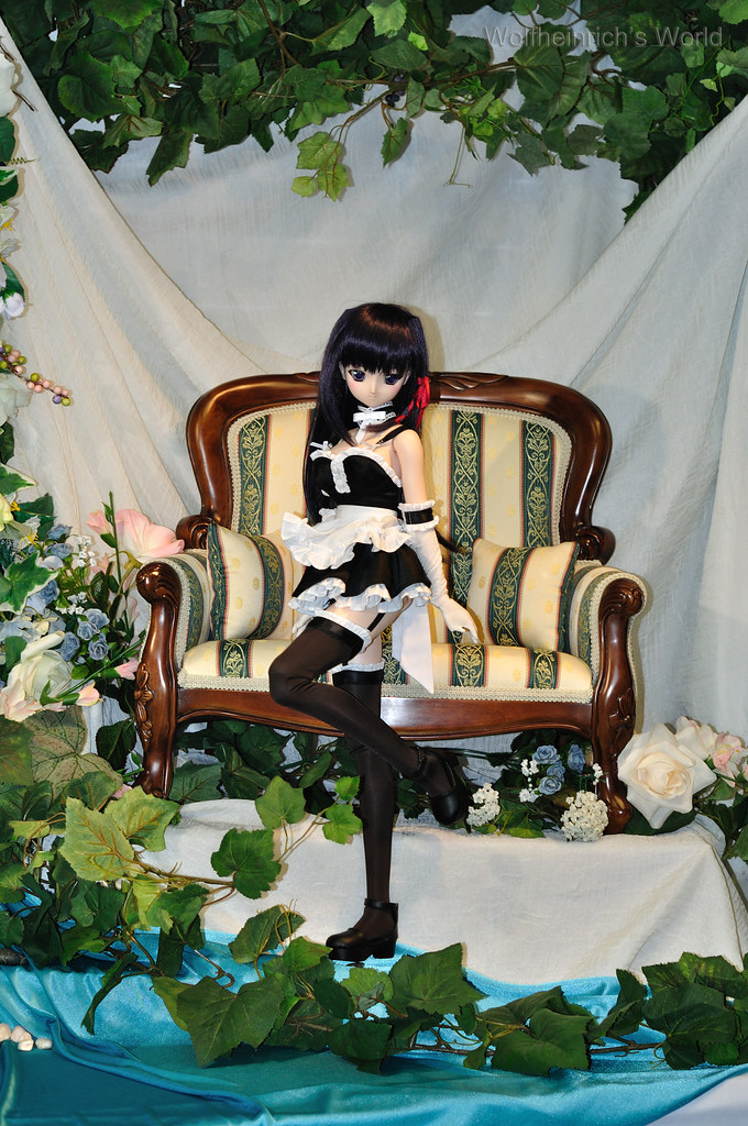 Volks Dollfie Dream ドルフィー DD娃娃 Kiriha Kuze 紅瀬桐葉 at Tenshi no Sumika in Torrance
