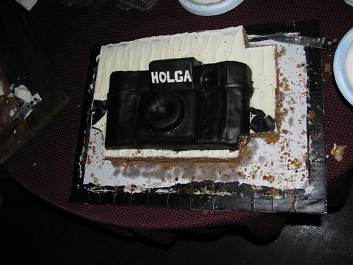 partially eaten Holga cake