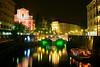 Le luci di Lubiana / The night lights of Ljubljana (AndreaPucci) Tags: bridge church night river lights boat fiume ponte clear chiesa slovenia ljubljana luci battello notturne canoneos400 franceprešeren lubiana triplebridge slovenjia tromostovje canonefs1855mm3556 andreapucci pontetriplo