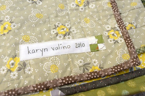 Patchwork Quilt Label
