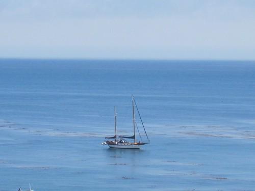 pretty sailboat