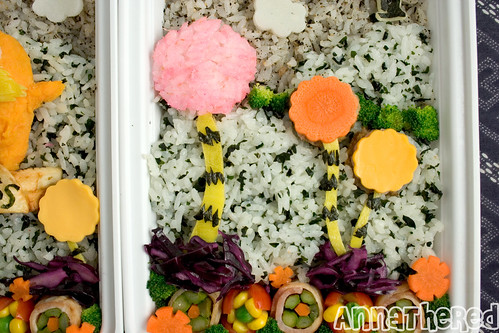 Bento #76: the Lorax detail