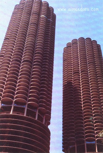 POSTCARD: Marina City Chicago (c 1982)