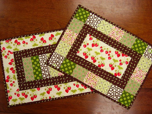 Table Chic Place Mats for Quilting 101