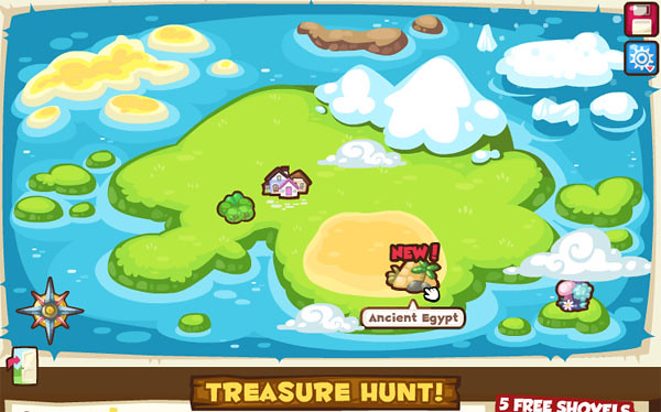 430 treasure map egypt