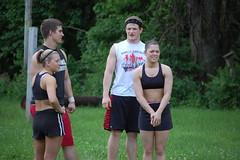Bradley University Cheerleading - Camp Wokanda (bradleycheerleading) Tags: college university bradley pyramids cheerleading stunts