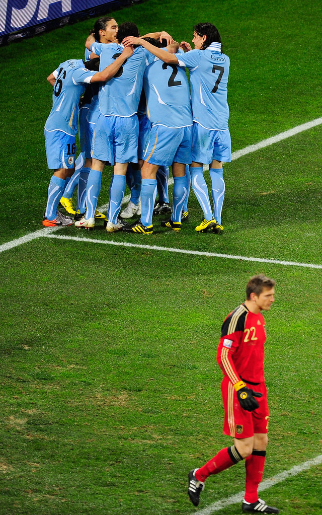 Mundial Sudáfrica Alemania Uruguay Gol