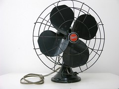 Black Diehl Industrial Fan
