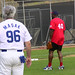 Masak & Michael Clark Duncan at Steve Garvey's Softball Classic 2010