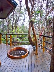 treehouse hot tub