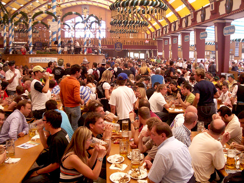 Lowenbrau beer hall