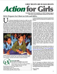 Action for Girls – July 2010